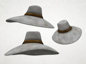 Scarecrow Hat - 3D Model