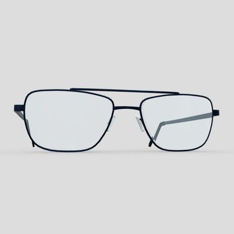 Glasses 5 - low poly PBR 3d model