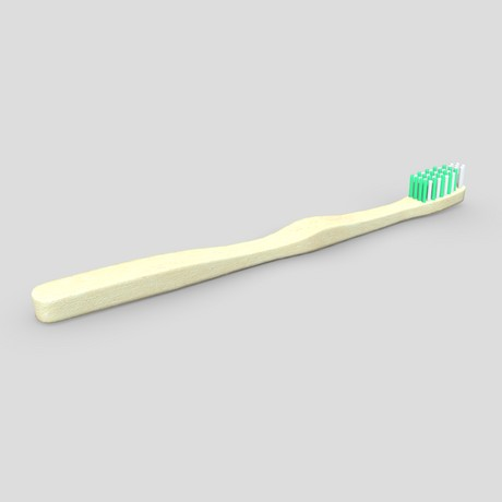 Toothbrush 2 - low poly PBR 3d model