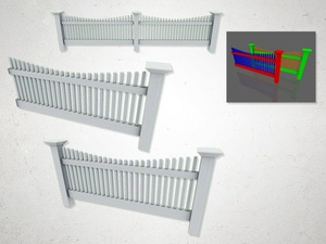 Fence - 3D Model