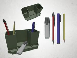 Pen Holder - 3D Model
