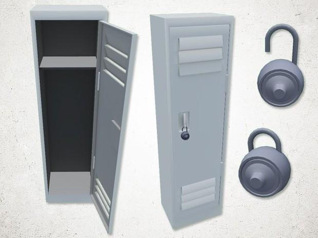 Locker - 3D Model