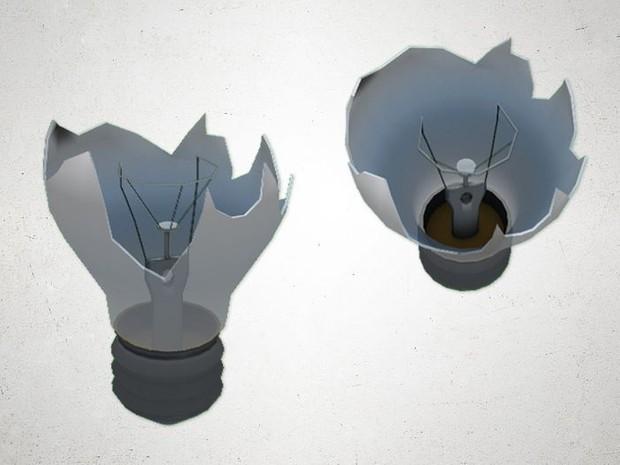Light Bulb (broken) - 3D Model