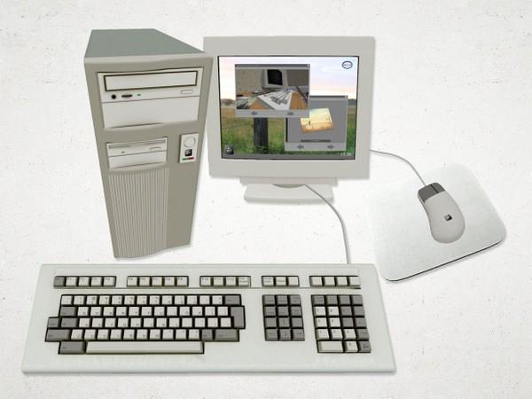 Computer - 3D Model