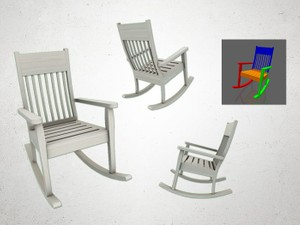 Rocking Chair - 3D Model
