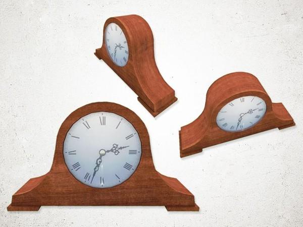 Mantle Clock - 3D Model