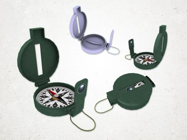 Compass - 3D Model