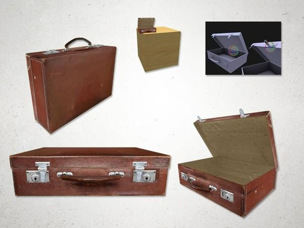 Suitcase - 3D Model