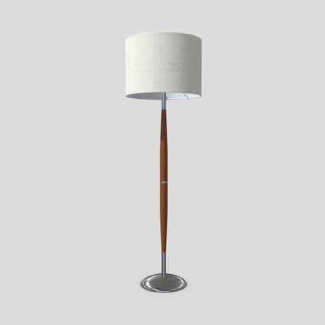 Standing Lamp 2 - low poly PBR 3d model