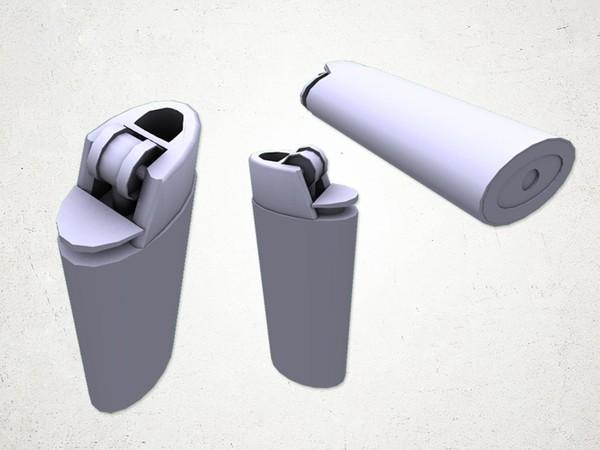 Lighter - 3D Model