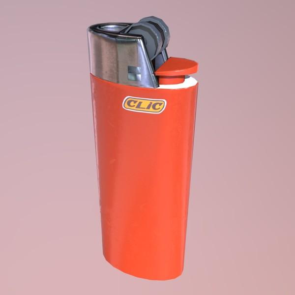 Lighter - PBR 3D Model