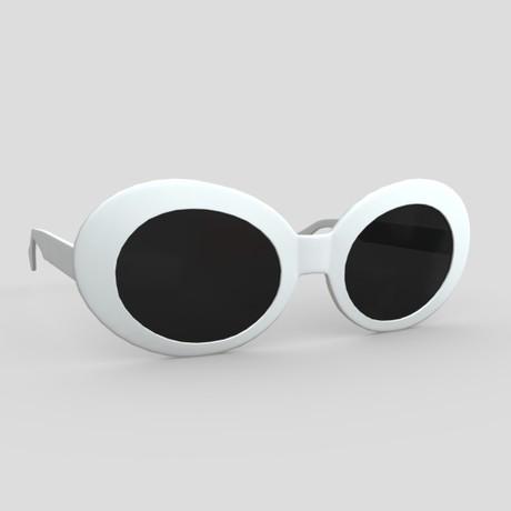 Sunglasses - low poly PBR 3d model