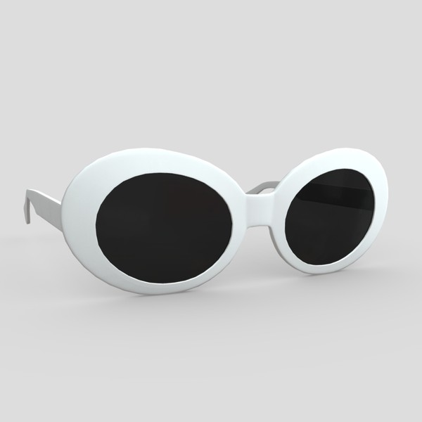 Sunglasses - low poly PBR 3d model