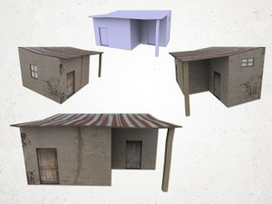 Shanty decor - 3D Model