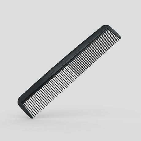 Hair Comb - low poly PBR 3d model