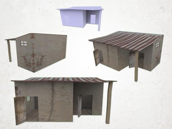 Shanty - 3D Model
