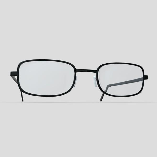 Glasses 4 - low poly PBR 3d model
