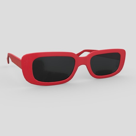 Sunglasses 3 - low poly PBR 3d model