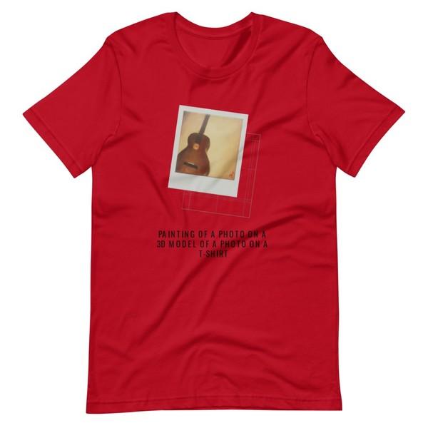 Just a Guitar - Unisex T-Shirt