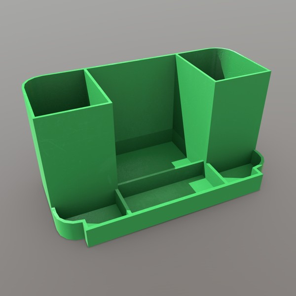 Pen Holder - low poly PBR 3d model
