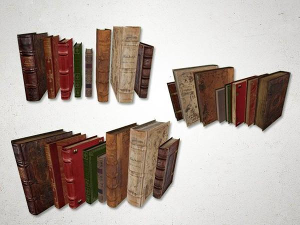 Books - 3D Model