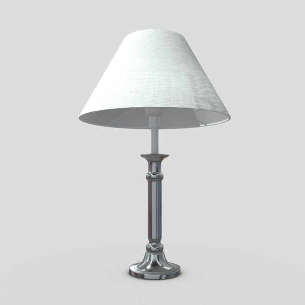 Table Lamp 6 - low poly PBR 3d model