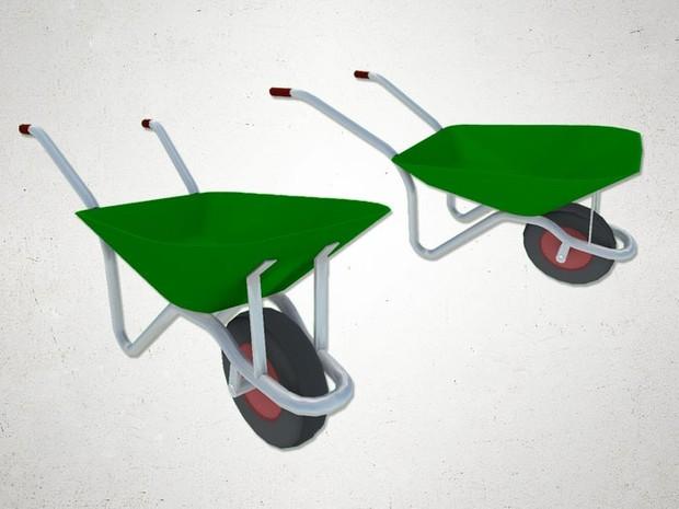 Wheelbarrow - 3D Model
