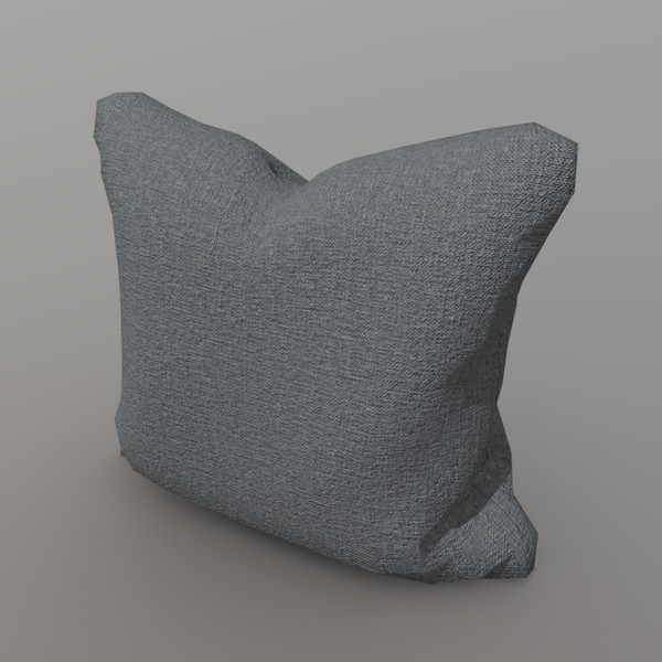 Cushion - low poly PBR 3d model