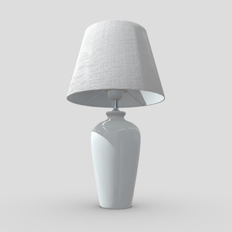 Table Lamp - low poly PBR 3d model