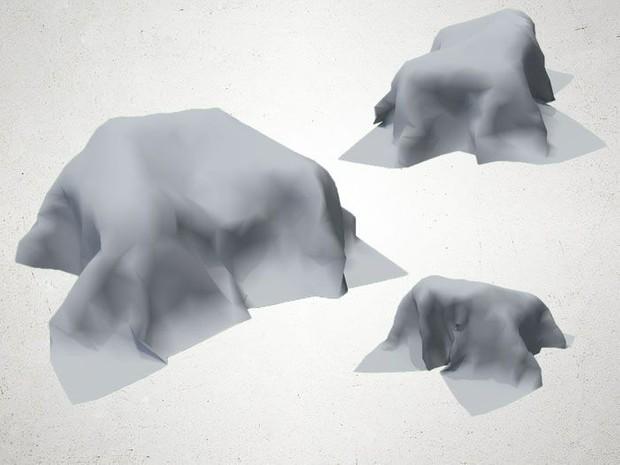 Canvas Cover - 3D Model