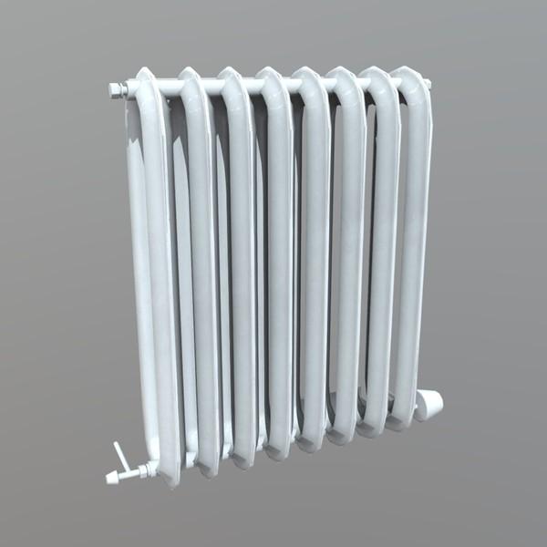 Radiator - low poly PBR 3d model