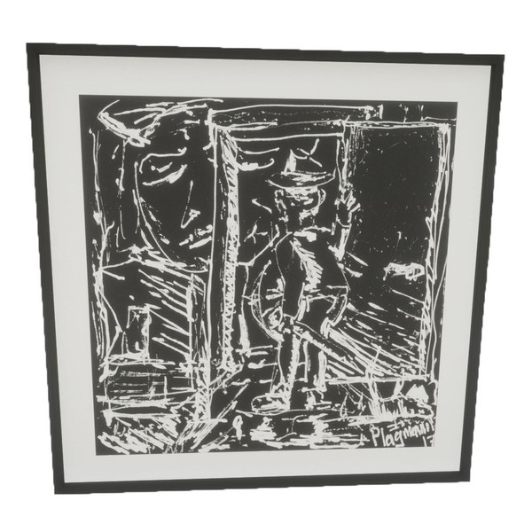 Picture Frame - untitled #grandpa - PBR 3D Model