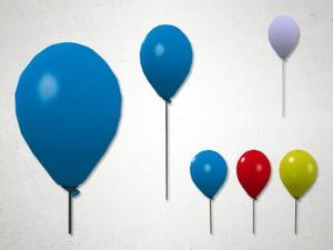 Balloon Stick - 3D Model