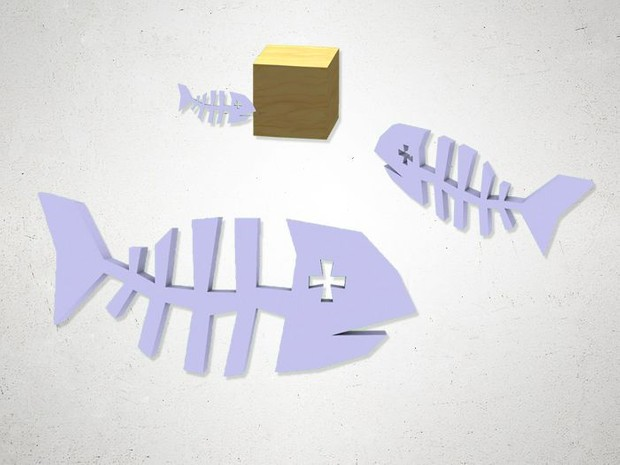 Fishbone - 3D Model