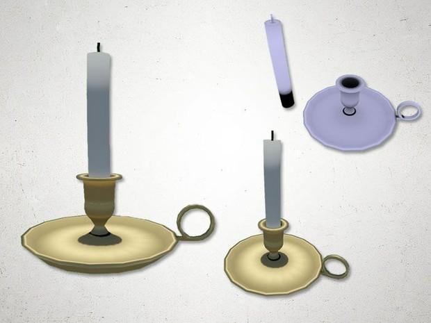 Candle Holder 2 - 3D Model