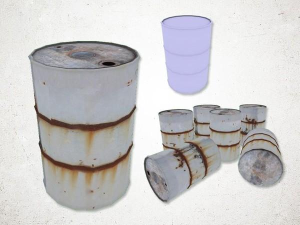 Oil Barrel - 3D Model