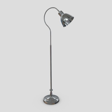 Standing Lamp 4 - low poly PBR 3d model