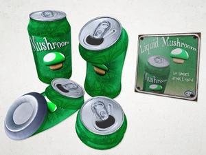 Beverage Can Set - 3D Model