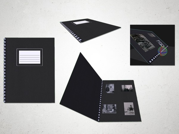 Photobook - 3D Model