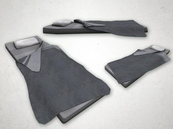 Bed 2 - 3D Model