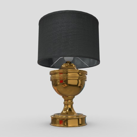 Table Lamp 3 - low poly PBR 3d model