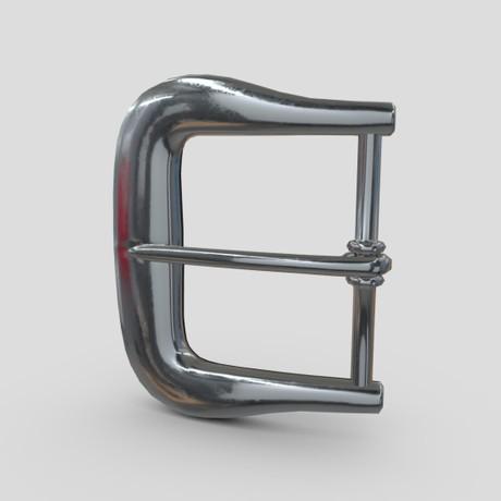 Buckle 4 - low poly PBR 3d model