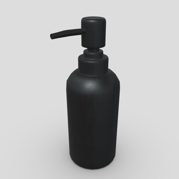 Soap Dispenser - low poly PBR 3d model