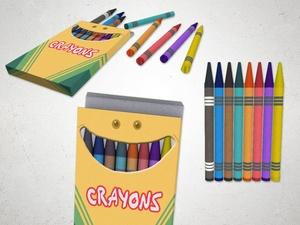Crayon - 3D Model