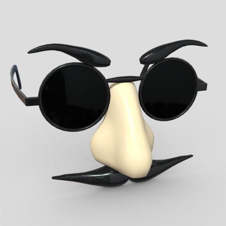 Novelty Sunglasses - low poly PBR 3d model