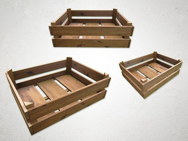 Crate 2 - 3D Model