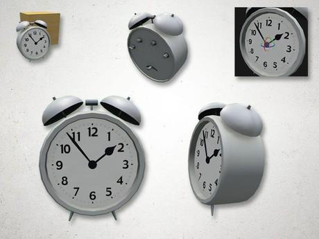 Alarm Clock - 3D Model