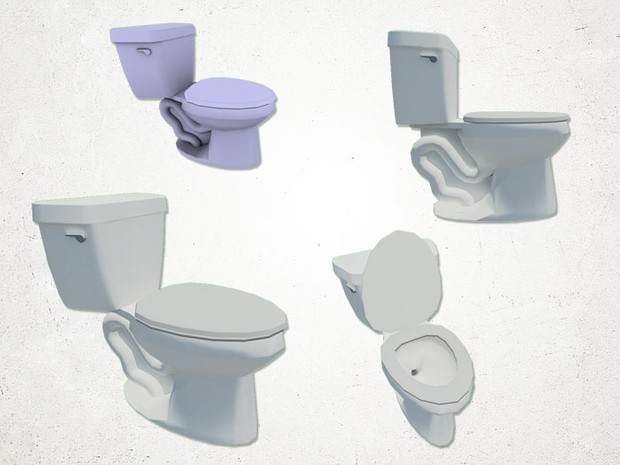 Toilet - 3D Model