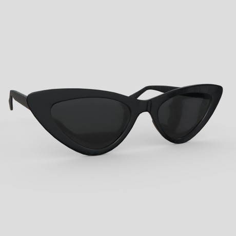Sunglasses 4 - low poly PBR 3d model