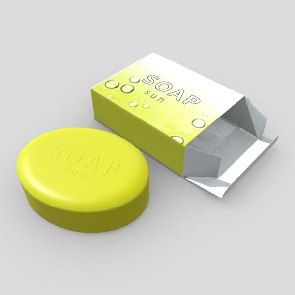Soap 3 - low poly PBR 3d model